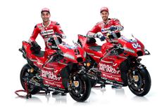 Hasil Positif Ducati saat Uji Coba, Dovizioso dan Petrucci Belum Puas