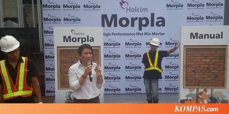 SMCB Bangun Rumah Lebih Cepat 30 Persen dengan Semen Siap Pakai - Kompas.com