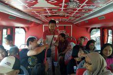 Ini Komentar Penumpang, Pertama Kali Naik Bus Tingkat Wisata Semarang