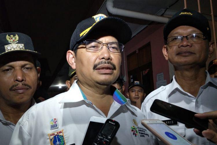 Wali Kota Jakarta Selatan Marullah Matali di Cipulir, Jakarta Selatan, Rabu (11/7/2018).