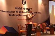 Perputaran Uang Selama Pertemuan IMF-Bank Dunia di Bali Diprediksi 100 Juta Dollar AS