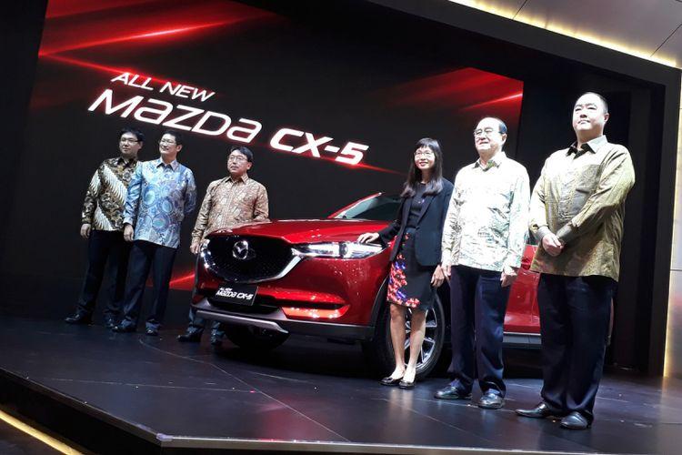 KompasOtomotif- PT Eurokars Motor Indonesia (EMI) resmi meluncurkan Mazda CX-5 terbaru.