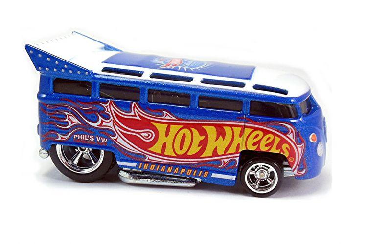Salah satu desain ikonik Phil Riehlman, VW Drug Bus T1 yang menjadi koleksi para penggemar Hot Wheels