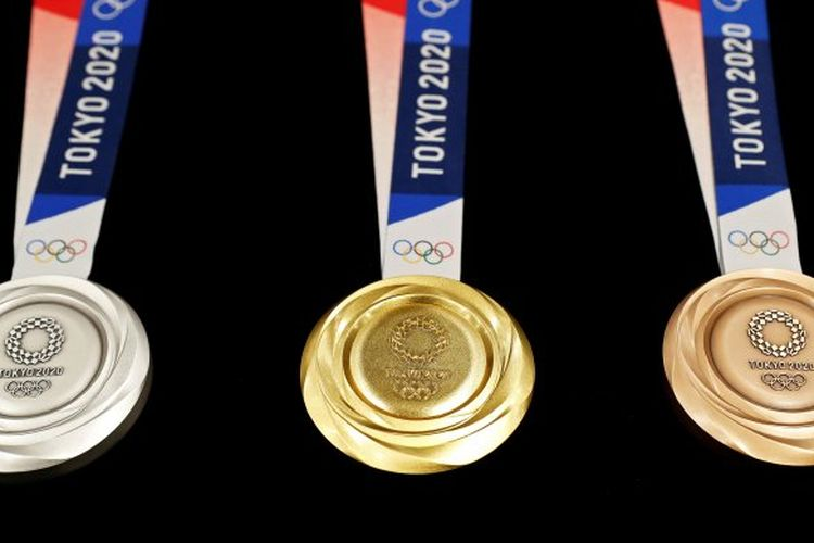 Medali Olimpiade Tokyo 2020 resmi diperkenalkan kepada publik.