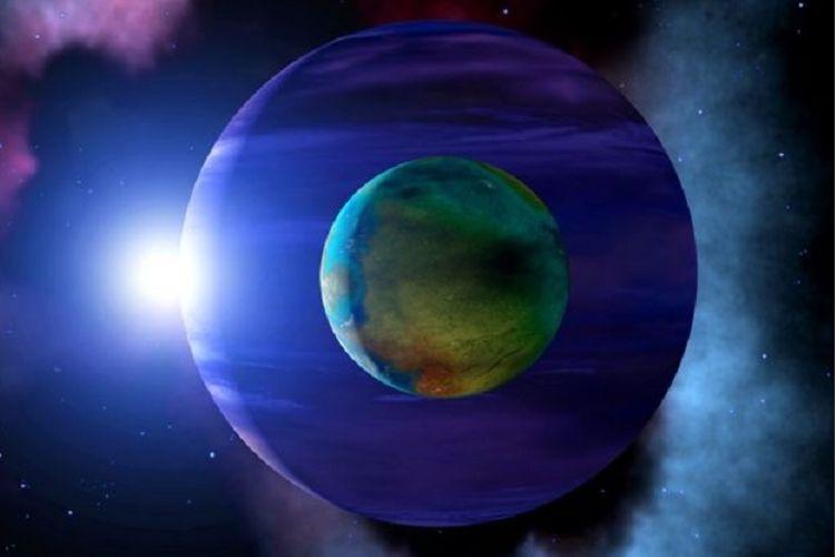 Di mana ada planet alien, di situ diyakini ada bulan alien.