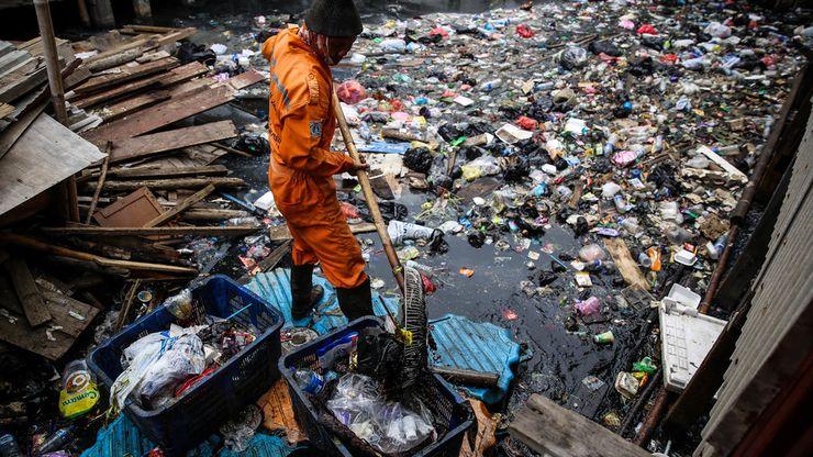 Kali Gendong, Wadah Sampah Warga Penjaringan