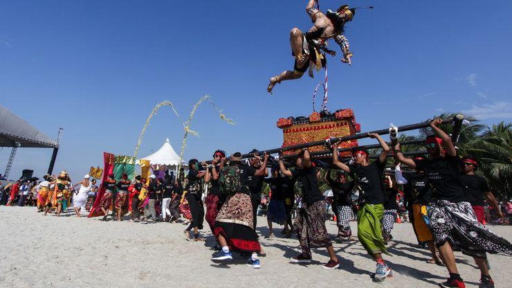 Semarak Festival Ogoh-ogoh di Ancol