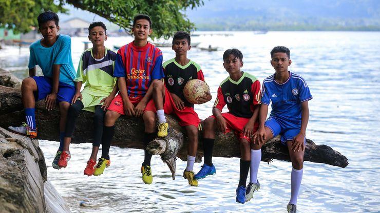 Cita-cita Pesepakbola Muda, dari Tulehu untuk Indonesia