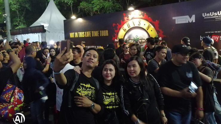 Tur 'Not in This Lifetime' Jadi Pelepas Dahaga Penggemar Guns N' Roses di Indonesia