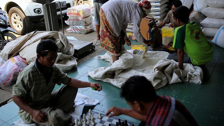 Pemerintah Atur HET, Pasokan Beras ke Pasar Cipinang Anjlok