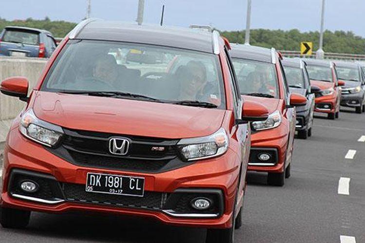 Test drive Honda New Mobilio di Pulau Bali