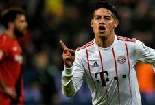 Rummenigge Pastikan James Rodriguez Tetap di Bayern