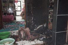 Rumah Anggota Polisi Dilempar Bom Molotov, 1 Motor Terbakar