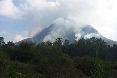 Sempat Padam, Gunung Panderman Kembali Terbakar Bahkan Meluas