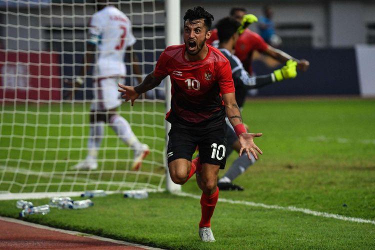Stefano Lilipaly Cedera di Latihan Perdana Timnas Indonesia