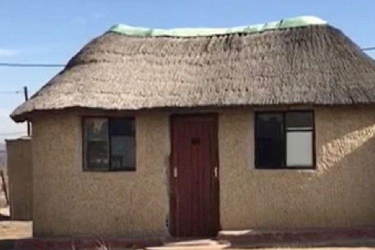 Sebuah rumah di Estcourt, Afrika Selatan, ini diyakini sebagai tempat seorang perempuan diperkosa, dimutilasi, dan dimakan dagingnya.