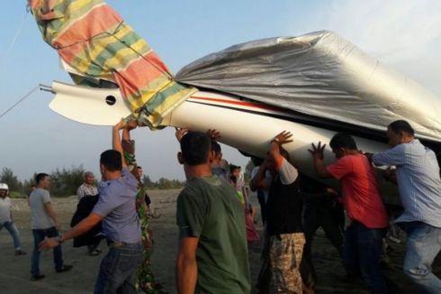 Pesawat yang Dipiloti Gubernur Aceh Mendarat Darurat, Penumpang Hanya