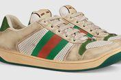 Sneakers dengan Desain Kotor Milik Gucci Dibanderol Rp 12 Juta