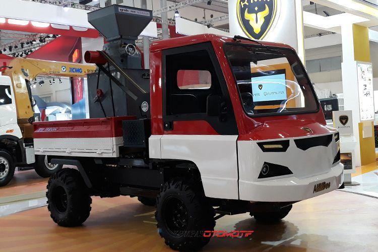 Kendaraan Alat Mekanis Multiguna Pedesaan (AMMDes) bakal meluncur di GIIAS 2018.