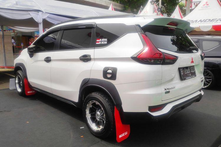 Tampang Rally di Mitsubishi Xpander