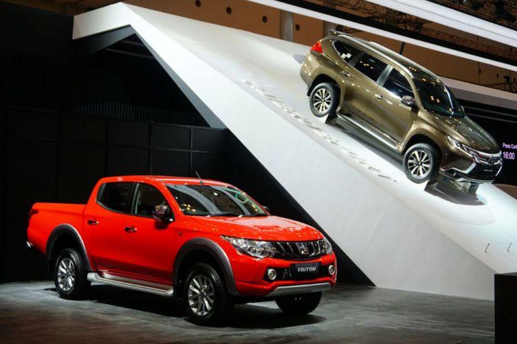 Otomania.com-Mitsubishi Triton dan Pajero Sport, berbagi platform.