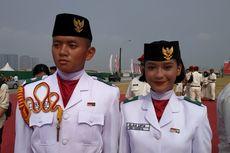 Cerita Alaia, Pembawa Baki Bendera pada Upacara HUT ke-74 RI di Pulau Reklamasi...
