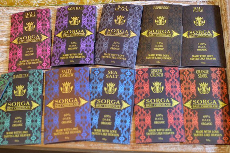 Sorga Chocolate di Karangasem, Bali.