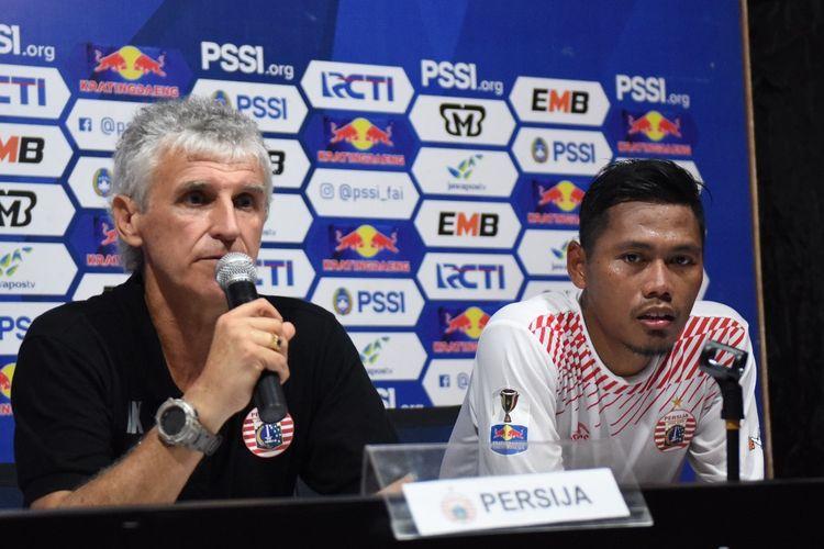Pelatih Persija Jakarta, Ivan Kolev.