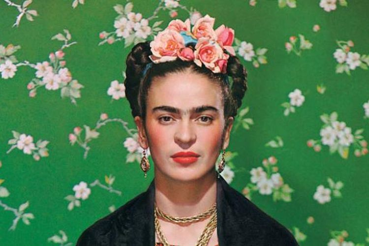 Frida on White Bench, 1939