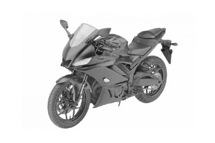 Yamaha mendaftarkan desain motorsport terbaru mereka yang dipastikan merupakan YZF-R25 atau R3