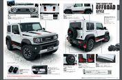 Empat Modifikasi Resmi Suzuki All New Jimny Sierra