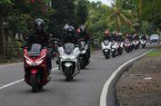 Honda Bawa Pecinta PCX Jelajah Lintas Pulau