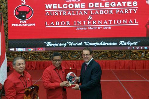 Bertemu Partai Buruh Australia, PDI-P Bahas Isu Hoaks hingga Papua
