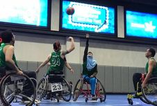 Ini Kegiatan Timnas Basket Kursi Roda Putri Indonesia