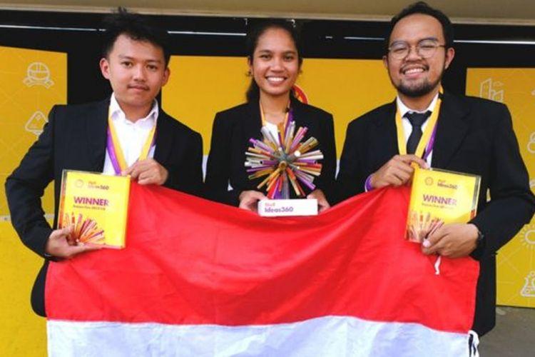 Tim Smart Car MCS dari UGM Yogyakarta meraih gelar juara di ajang ShellIdeas 360 di Inggris(BBC.com)