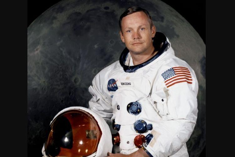 Biografi Tokoh Dunia: Neil Armstrong, Manusia Pertama yang Pijakkan Kaki di Bulan