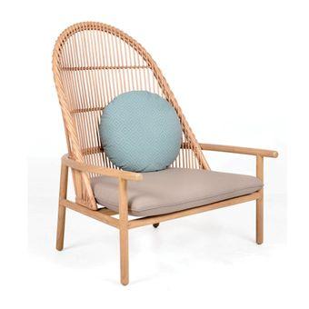 Merapi Lounge Chair karya Djalin dari Bandung, Jawa Barat.