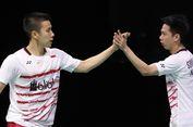 Marcus/Kevin Bawa Indonesia Unggul 1-0 atas Inggris di Piala Sudirman
