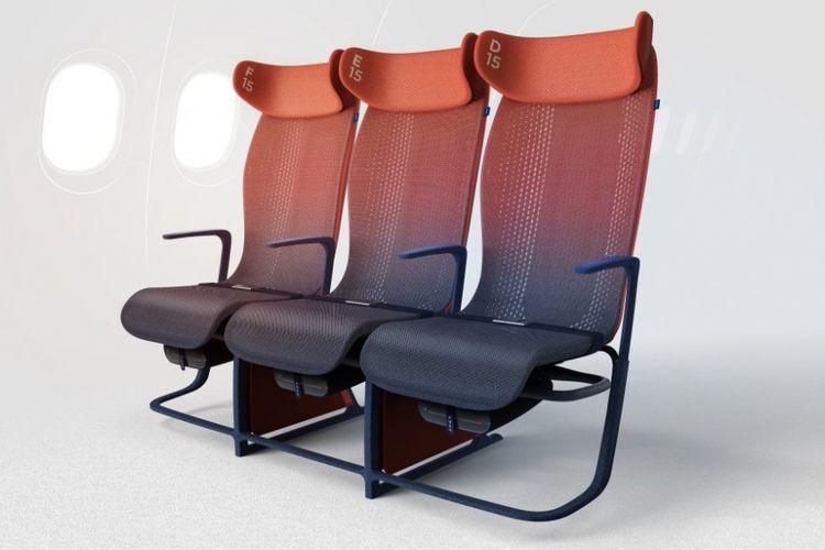 Prototipe kursi pesawat dari LAYER.