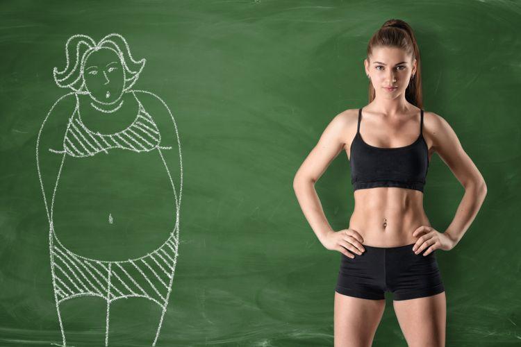 Ilustrasi tubuh ideal