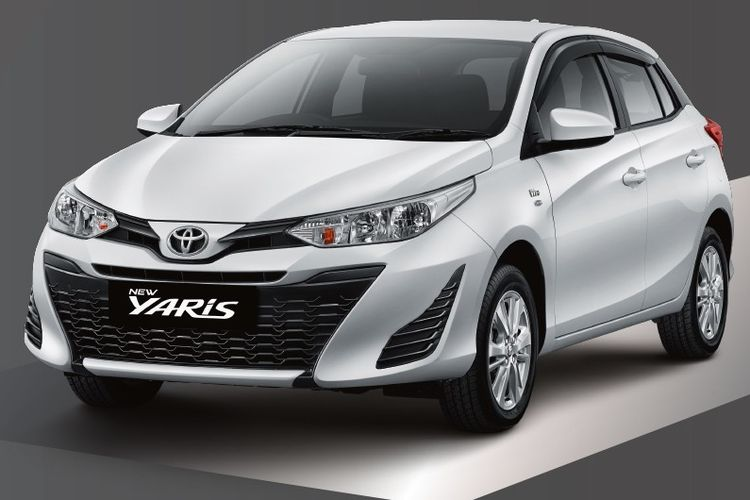 Toyota Yaris 2018 varian E.