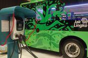 Transjakarta Terus Uji Coba Bus Listrik
