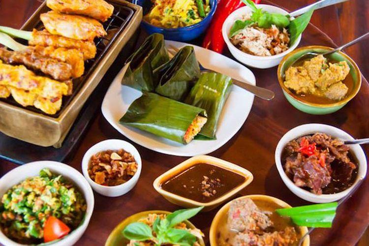 Kuliner khas Bali.