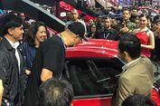 Reaksi Kaesang Pangarep Saat Bertemu Toyota Supra