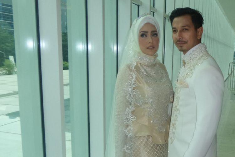 Untuk Gaun Akad Nikah Fairuz A Rafiq Shireen Sungkar Beri Harga Teman