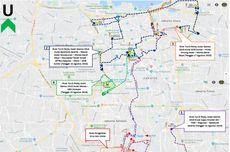 Ini Rute dan Rekayasa Lalin Selama Pawai Obor Hari Kedua di Jakarta