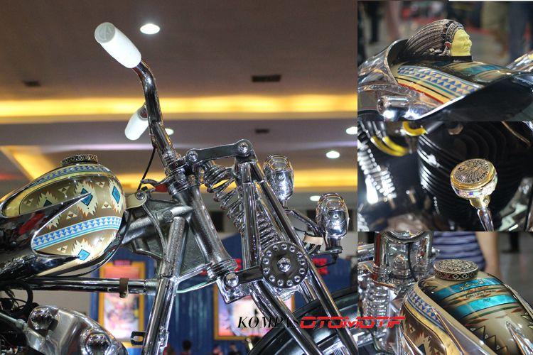 Falcon, Harley-Davidson Knucklehead garapan Queenlekha