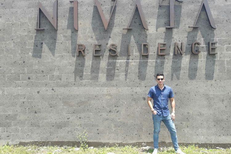 Artis peran Andrew White pilih Bali sebagai lokasi tempat tinggal.