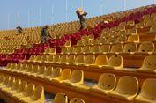 TNI Ikut Perbaiki Kursi Stadion Jakabaring yang Dirusak Suporter Sriwijaya FC