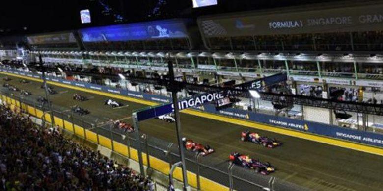 Tahun ini, Formula One Grand Prix akan digelar pada 16-18 September bertempat di Marina Bay Street Circuit.